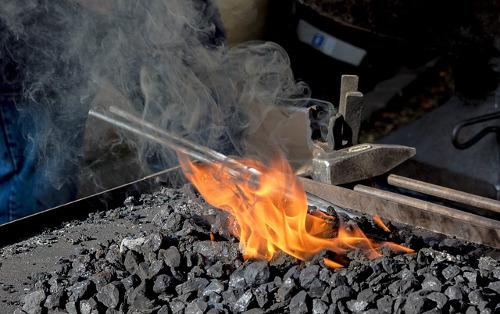 The Blacksmith's Fire