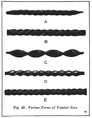 wrought iron techniques twists