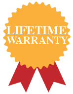 Lifetime Warranty on wrought iron