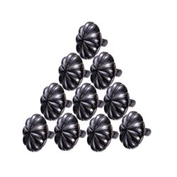 Floral Mission Style Cabinet Knobs1-1/4 Inch
