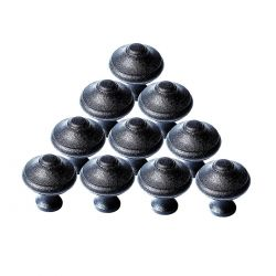 Mission Style Cabinet Knobs 1 Inch Set of 10