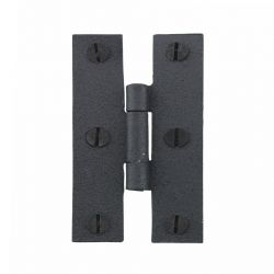 H Cabinet Hinge Flush Mount 3 inch Set of 24