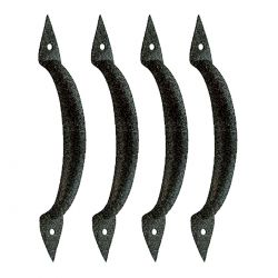 Door Handle Spear 6-3/8 Inch Set of 4