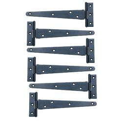 Door or Gate Tee Hinges 5 inch Set of 6