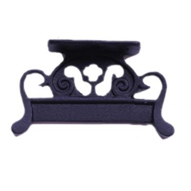 Wrought Iron Vintage Style Scroll Boot Scraper