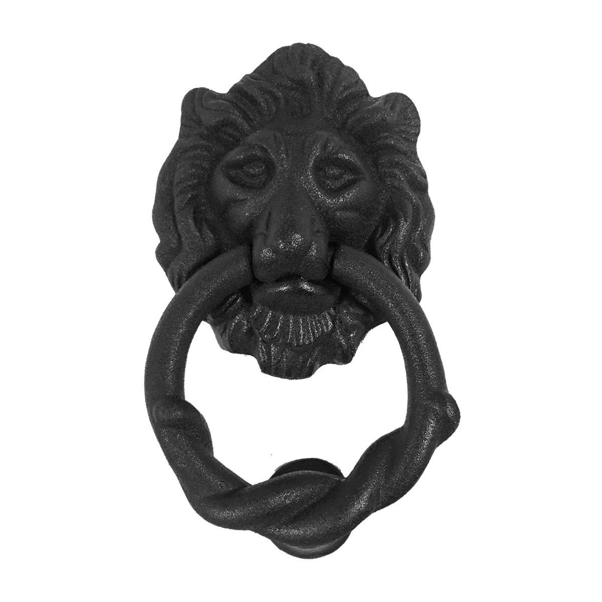 Cast Iron Lions Head Door Knocker