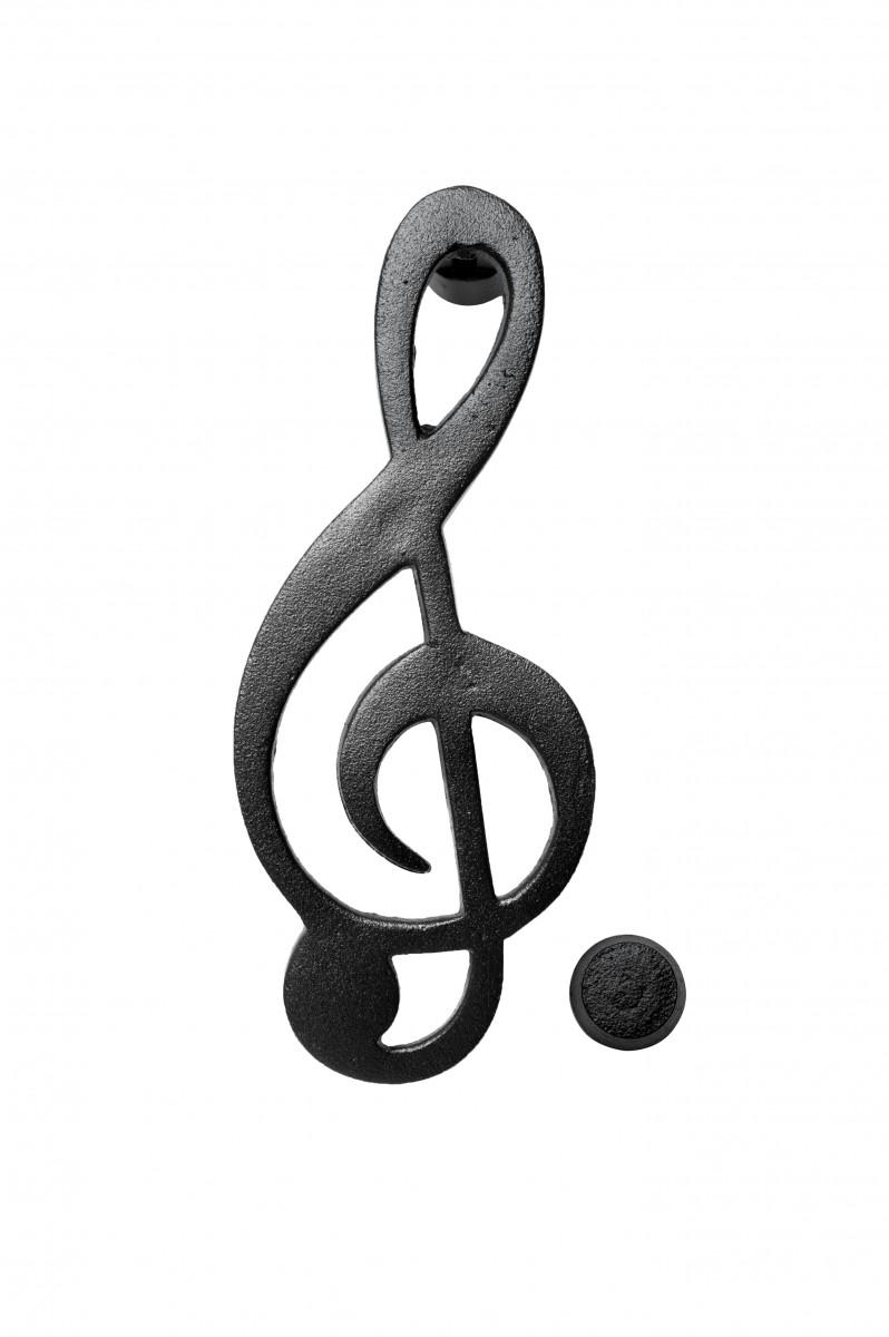 Iron door knocker music symbol cast iron door knocker music symbol biocorpaavc Images