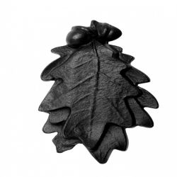 Cast Iron Door Knocker Oak Leaf