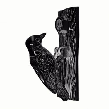 Cast Iron Door Knocker Woodpecker