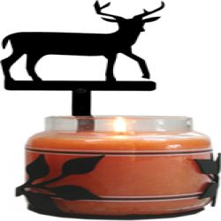 10 inch Deer - Large Jar Sconce