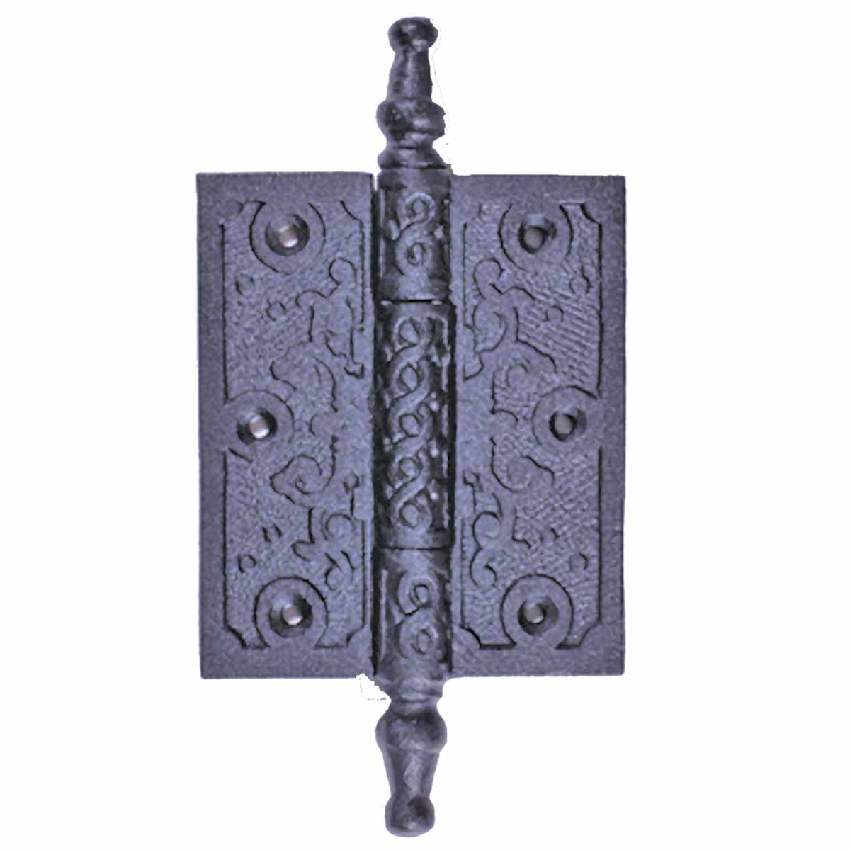 Wrought Iron Victorian Steeple Tip Butt Cabinet Hinge 5-3 ...