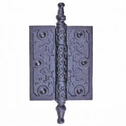 Victorian Steeple Tip Butt Cabinet Hinge 5-3/4 Inch