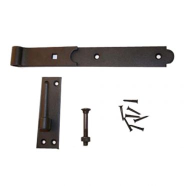 Wrought Iron British Pintle Door or Gate Hinge 12-1/4 Inch