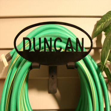Custom Personalized Garden Hose Holder