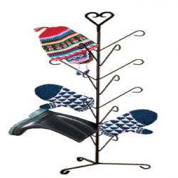 Heart - Mitten or Boot Dryer Holds 8 Pair | 39 inch