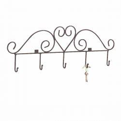 Heart Hook Key Rack 31-1/4 Inch W