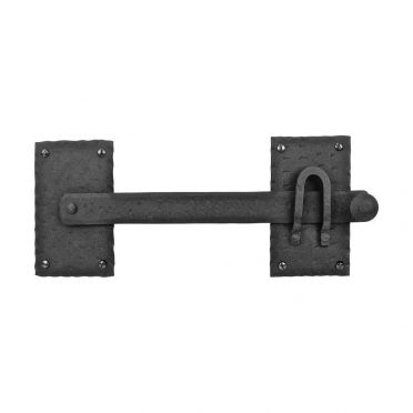 Wrought Iron Hand Forged Gate Latch 12 Inch