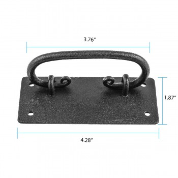 mission cabinet wrought iron mission cabinet hardware pull alt