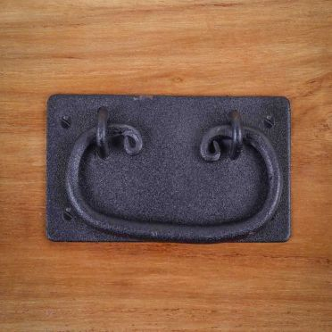 Wrought Iron Rustic Mission Cabinet Hardware Pull