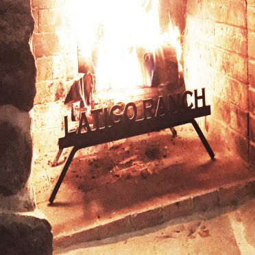 Custom Personalized Fireplace Grate