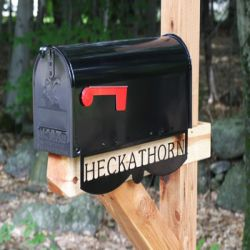 Custom Personalized Mailbox Nameplate
