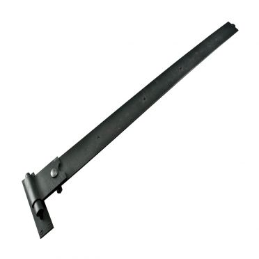 Wrought Iron Heavy Duty Pintle Door or Gate Hinge 48 Inch