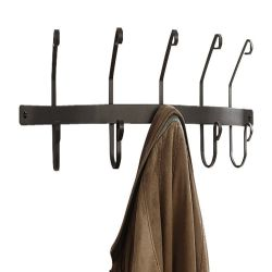 5 hook Coat Rack | Wall Mounted