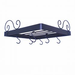 Corner Pot Rack | Fan Style