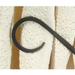 Curtain Tiebacks | Smooth Hook | Pair