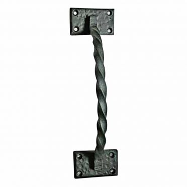 Wrought Iron Door and Gate Pull | Twisted | Small