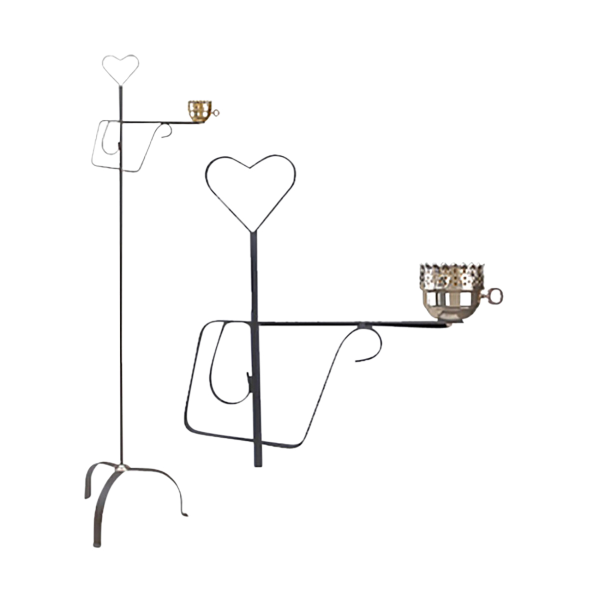 Wrought Iron Floor Lamp | Country Heart