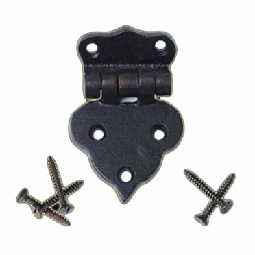 Wrought Iron Hoosier Cabinet Hinge | 2-1/2 inch