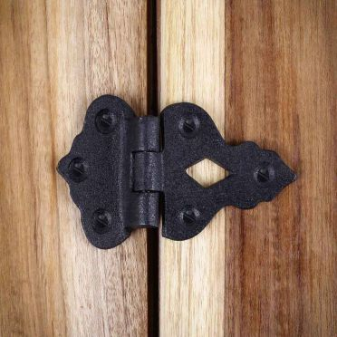 Wrought Iron Hoosier Cabinet Hinge | 3-1/2 inch