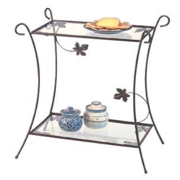 Wrought Iron Patio Garden Table
